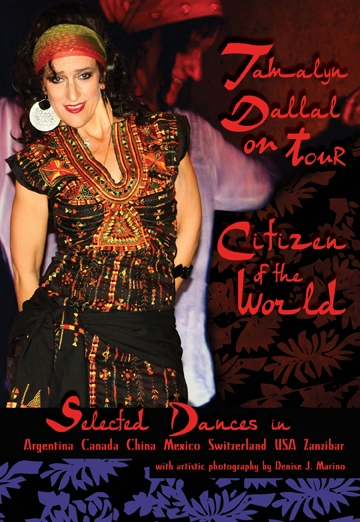 CitizenoftheWorld DVD final front22 Bellydance workshop and retreat in ZANZIBAR by Tamalyn Dallal and Bozenka!!