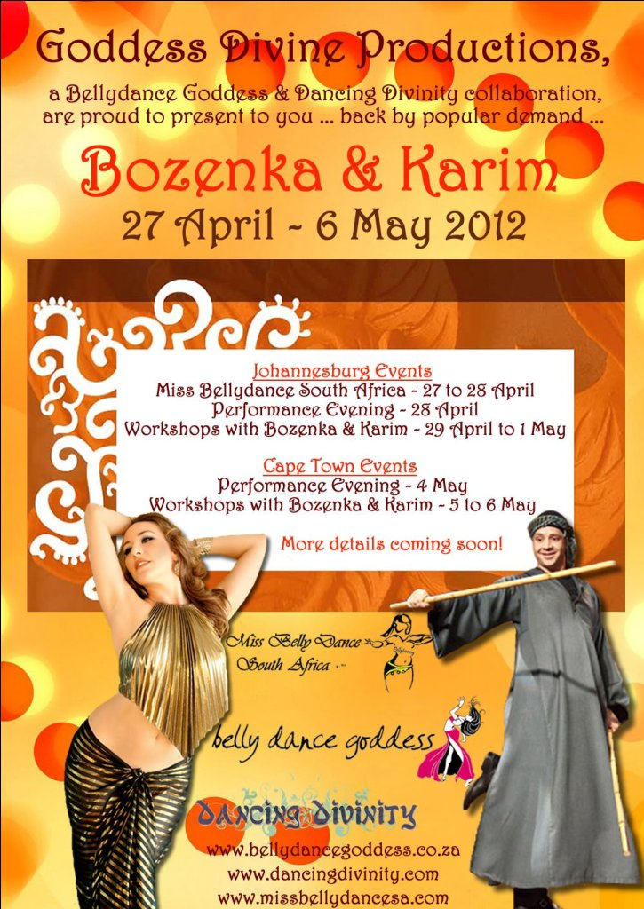 Bozenka Karim1 Bozenka and Karim Nagi 2012 by Goddess Divine Productions