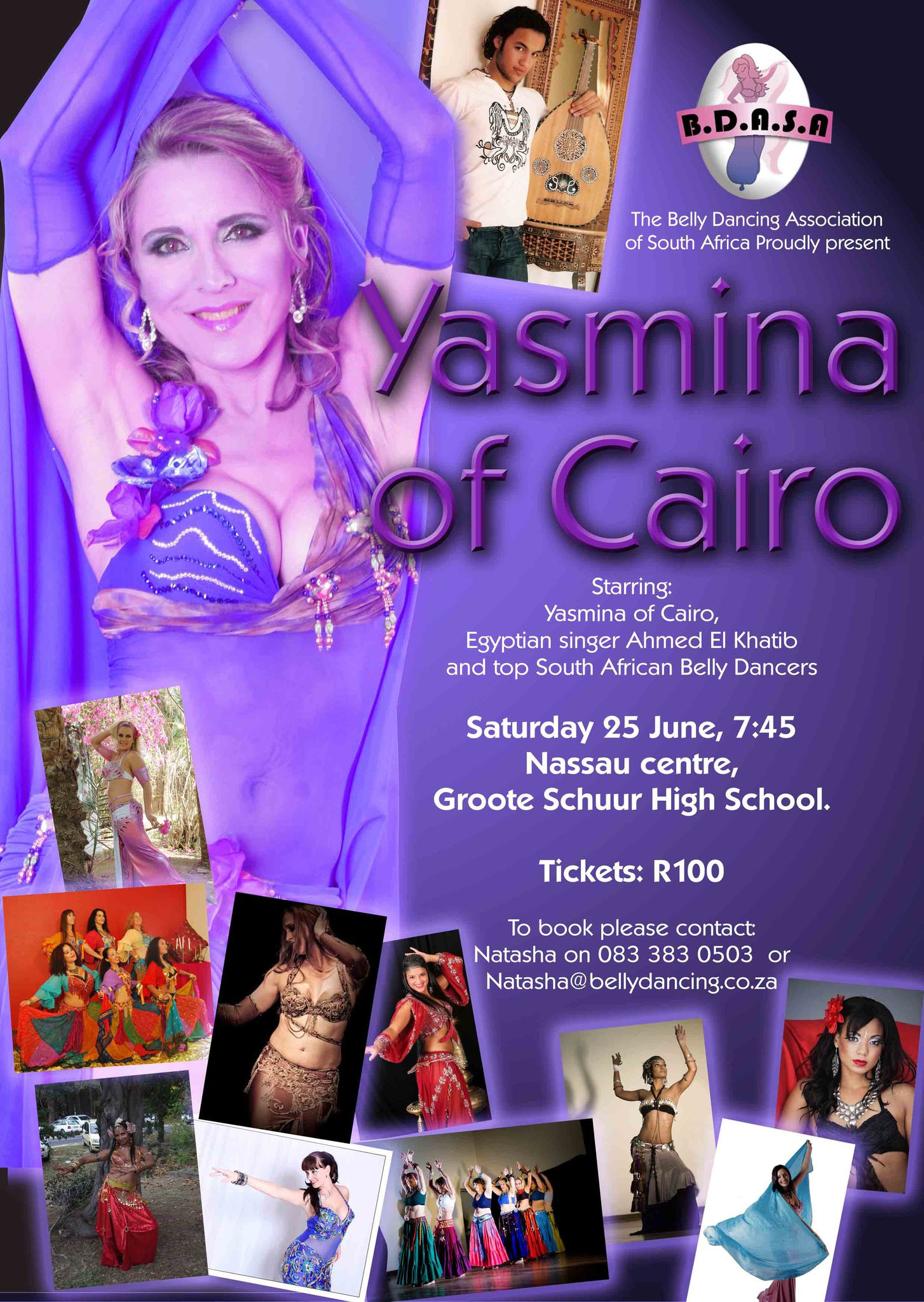 Senta Duffield Yasmina of Cairo and Ahmed Belly Dance Showcase by Maya Dance