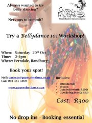 Bellydance 1012 Bellydance 101 Workshop by Gypsy Rhythms
