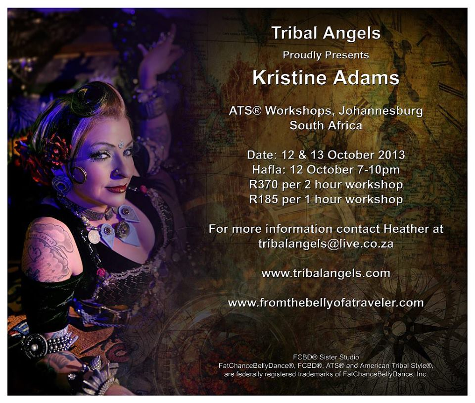 Tribal Angels ATS Workshop and Hafla by Kristine Adams